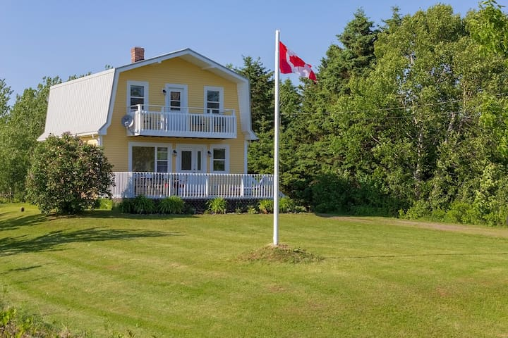 Fun cottage getaway in Canoe Cove, PEI