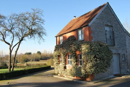 Cute cottage with views of Glastonbury Tor - Somerset - House