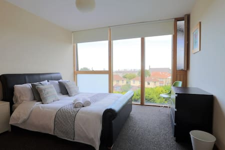 Bedroom 2 with lovely views