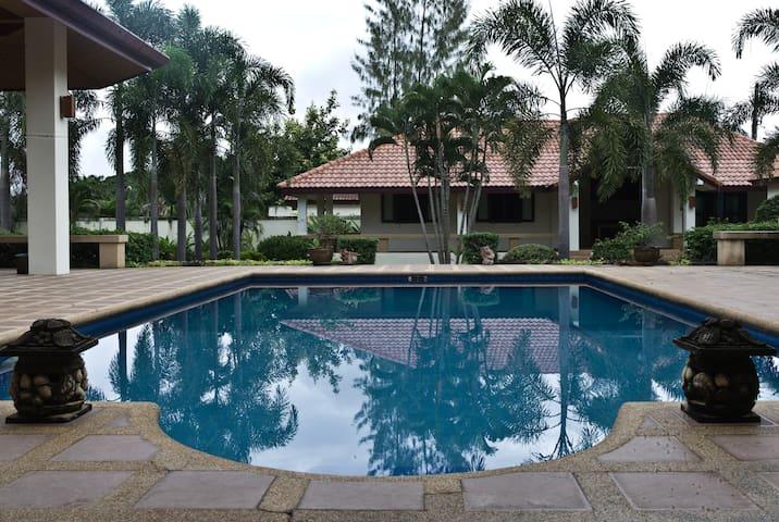稻田安墅~享受坐落在清迈乡间,拥有独立泳池的假日别墅! - Tambon San Na Meng, San Sai. - 別荘