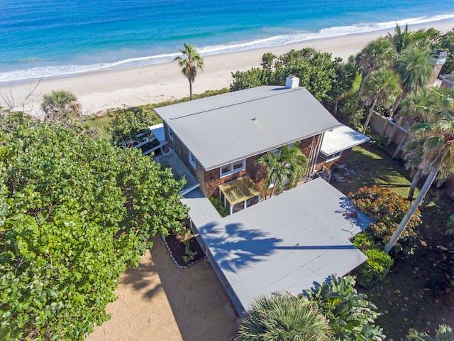 Scenic beachfront property!