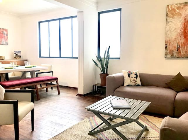 GREAT Apartment 2BR 5BED @Roma Norte & Condesa