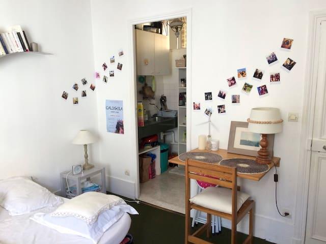 Studio in the Latin Neighborhood