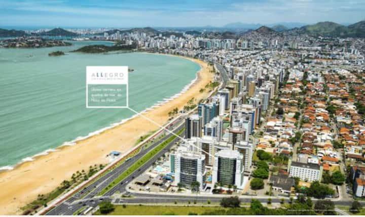 Edifício Allegro, Mata da praia.