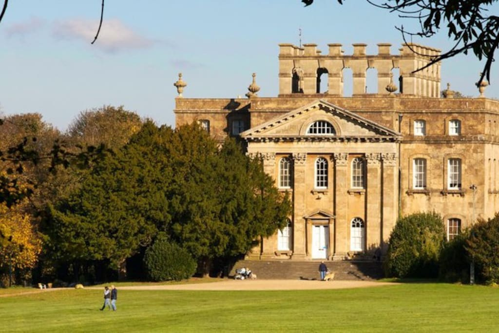 A very close walk to the the beautiful Kingsweston House.