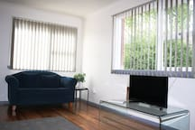 nyby apartment is in a leafy, safe, family oriented area