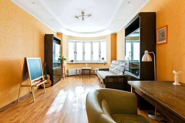 Квартира у парка Царицыно. Διαμέρισμα δίπλα στο