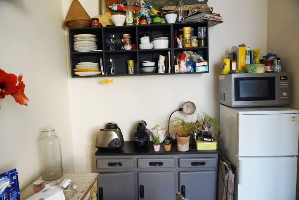 Rangement de la cuisine