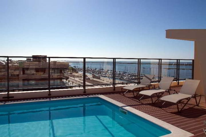 Beautiful Apartment with swimming pool - Olhão - Apartment
