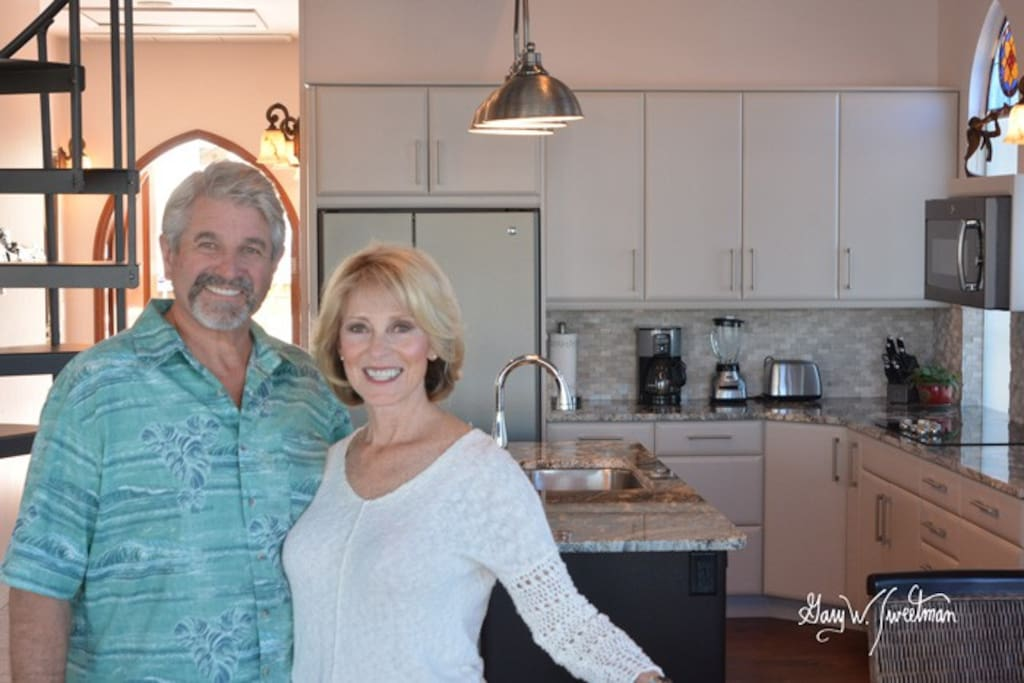 Owners Sam and Linda