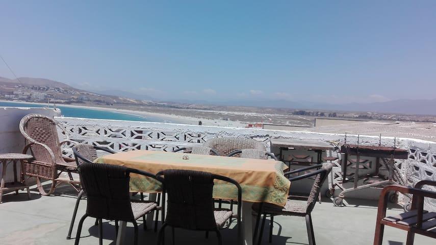 Casa Linda Vista playa socos