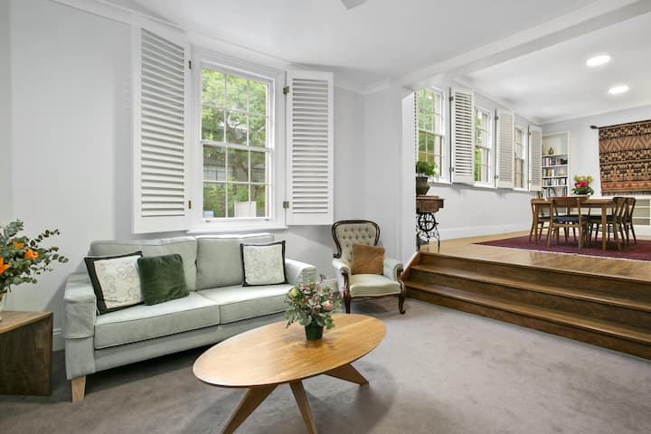 Family Terrace Home Minutes From Oxford Street and CBD