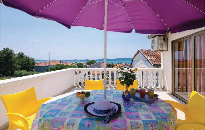 Stunning apartment in Bibinje with WiFi and 1 Bedrooms