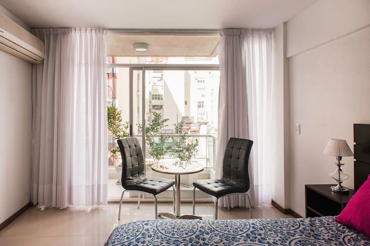 Céntrico, Moderno y Cómodo apartamento en Recoleta