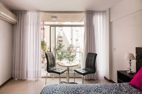 Recoleta的中心、現代和舒適的公寓