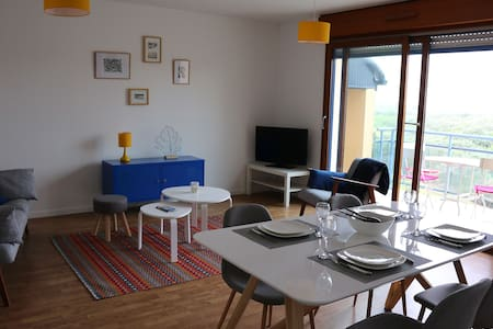 Appartement Blériot-Plage vue mer