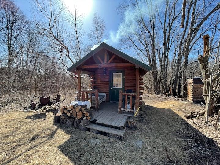 Farm Cabin & Sauna