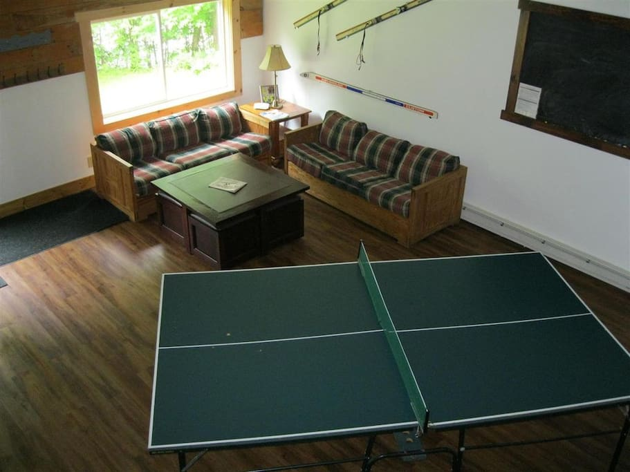 Game Room With Ping Pong