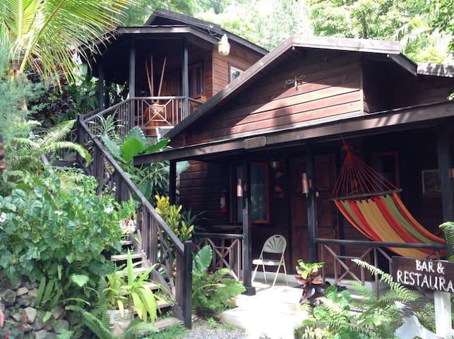 Black & Gold Stone Cabins Blue Mtns Jamaica