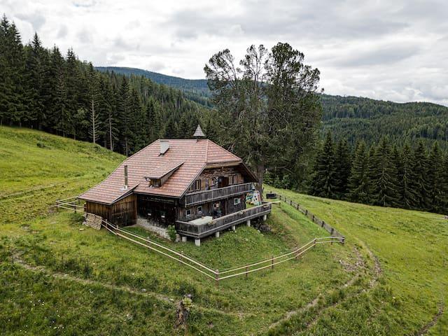 Almhütte Meierei Alleinlage in der Steiermark