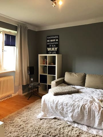 cosy room near S-Bahn and river Elbe