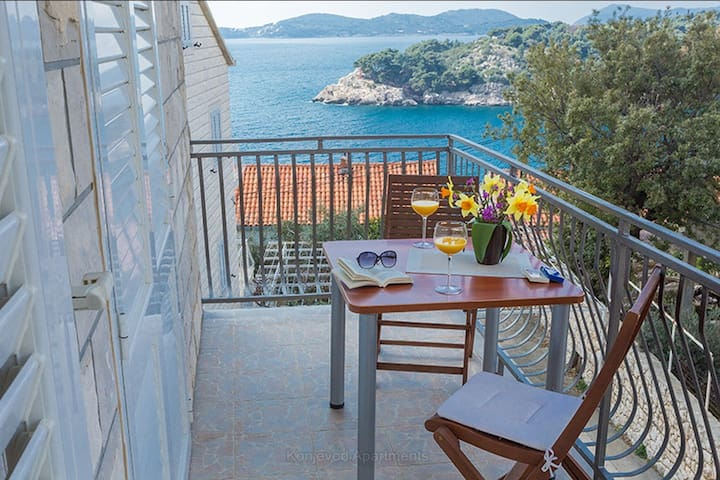 Comfort Lovely Seaview Apartment -Balcony &Terrace - Dubrovnik - Apartamento