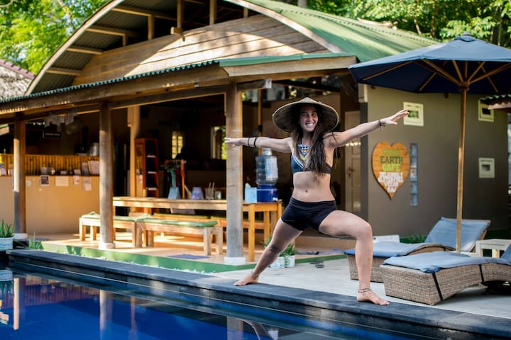 Gluten Free H2O Yoga Resort- Shared Bungalow 4