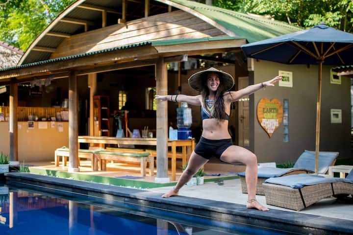 H2O Yoga Resort- Shared Bungalow 4