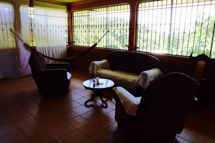 Bedroom in a quiet area with ocean view - San Juan del Sur - Dům