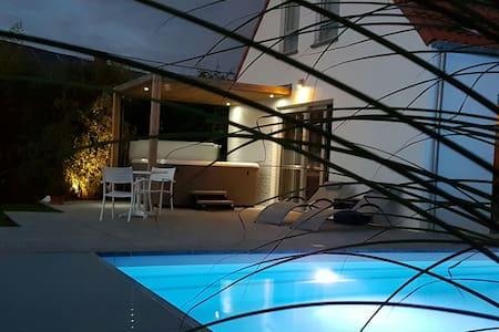 White Cocooning Villa au Pays des collines - Ellezelles - Villa