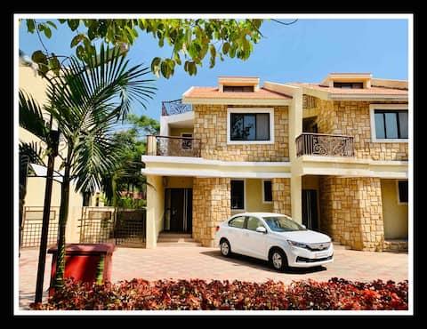 Brand New 3 BHK Hill-side Villa