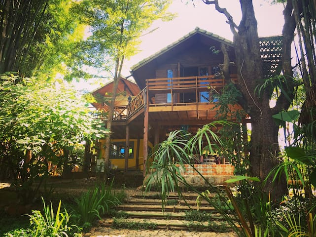 Pai Zen home. Be one with nature. - Pai - Casa