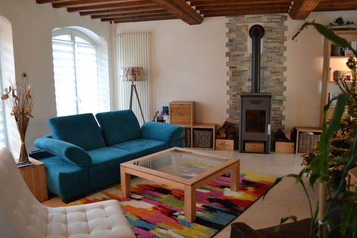 Maison de Bourg 500 m de la Mer - 4 Chambres - Langrune-sur-Mer - Dom
