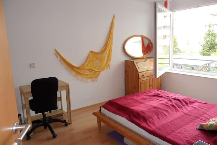 Freundliches helles Zimmer - Karlsruhe - Apto. en complejo residencial