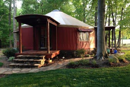 William and Rosa's Yurt