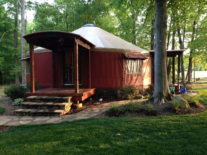 William and Rosa's Yurt