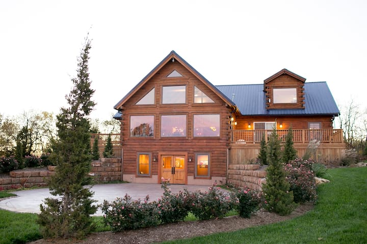 Private Luxury Lodge on 330-acre Buffalo Ranch - Kingsville - Blockhütte