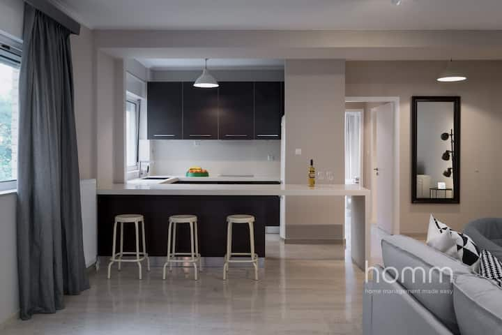 121m² homm Renovated Apartment in Athens Riviera