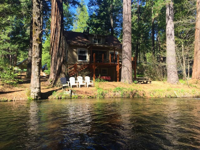 Lassen Creek-side 4 bedroom home