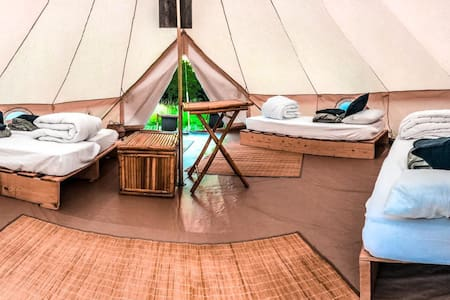 NEW: Glamping Lodg'ing in Drôme Provençale