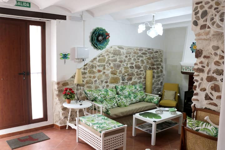 House with 3 bedrooms in Estivella - 11 km from the beach