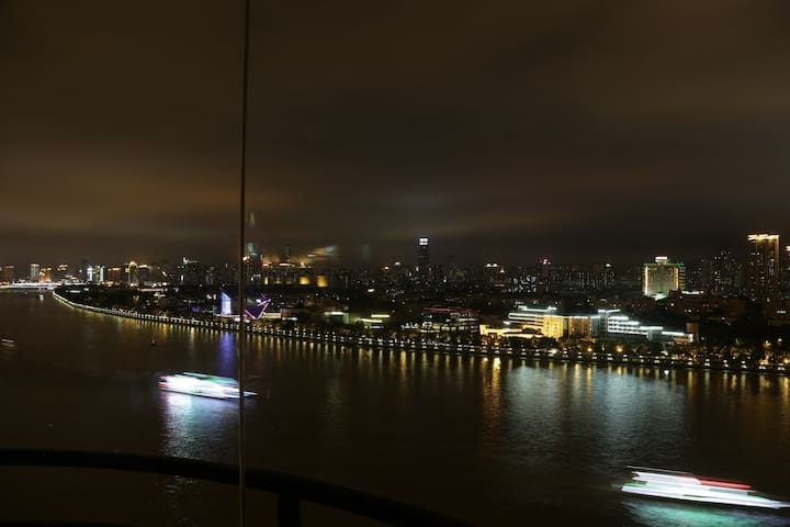 Full Sight river view in GZ - 广州 - Bed & Breakfast