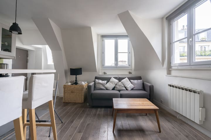 Shiny flat in Notre Dame ❤️❤️