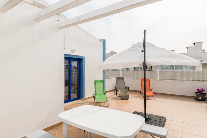 Aqua Blue Duplex Apartment, Albufeira, Algarve