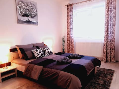 Modern and cozy apartment near Grand Arena mall