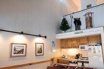 Loon Mountain Studio with a Loft