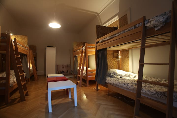 Inside view of dormitory