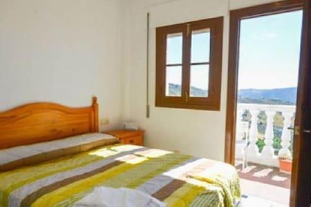 Habitación con irador en la valle - Casarabonela - Hotel butique
