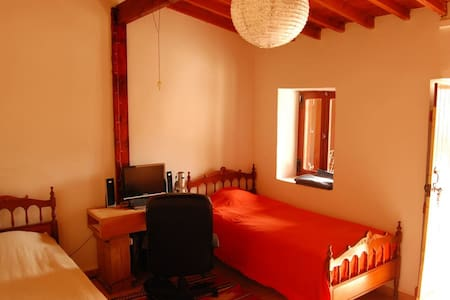 Room for two in village house near sea - Agios Tychon - Casa
