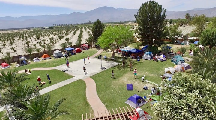 Camping Space #21 for COACHELLA